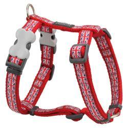Red Dingo Union Jack Medium Dog Harness