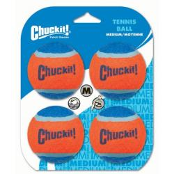 Chuckit Tennis Ball 4 pack Medium