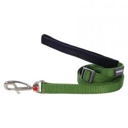 Red Dingo Green dog lead 4-6 ft Large