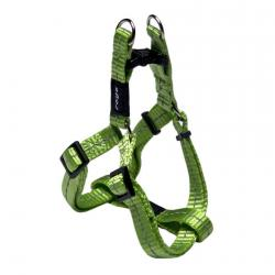 Rogz Utility Nitelife Lime Small Step-In Dog Harness
