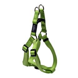 Rogz Utility Fanbelt Lime Large Step-In Dog Harness