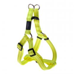 Rogz Utility Fanbelt Dayglo Yellow Large Step-In Dog Harness