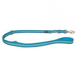 Red Dingo Reflective Turquoise Laisse-multi 200 cm XS