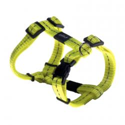 Rogz Utility Nitelife Dayglo Yellow Small Dog Harness