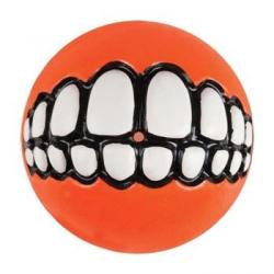 Rogz  Grinz Ball small orange