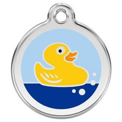 Red Dingo Médaille Rubber Duck Small