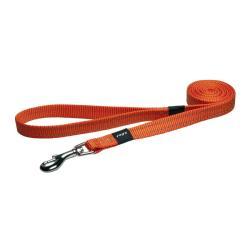 Rogz Utility Snake Orange dog lead 140cm Medium