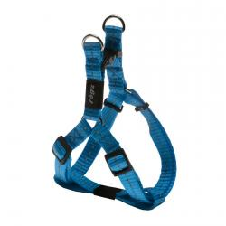 Rogz Utility Nitelife Turquoise Small Step-In Dog Harness