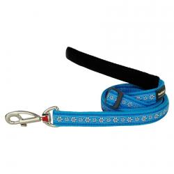 Red Dingo Daisy Chain Turquoise dog lead 100-180 cm Large