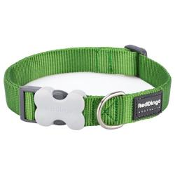 Red Dingo Green Small Dog Collar