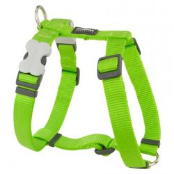 Red Dingo Lime Small Dog Harness