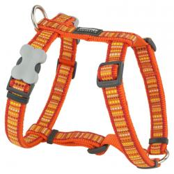 Red Dingo Lotzadotz orange Small Dog Harness