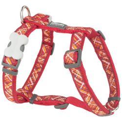 Red Dingo Flanno Red Medium Dog Harness