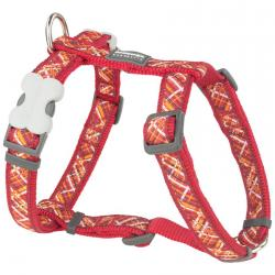 Red Dingo Flanno Red Large Dog Harness