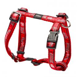 Rogz Fancy Dress Scooter Dog Harness Medium / Red Bones